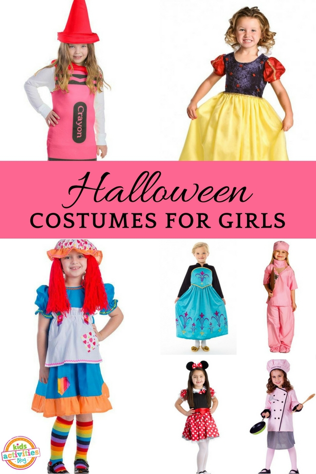 Halloween Costumes for Girls - 15 Great Ideas for Kids Halloween Costumes
