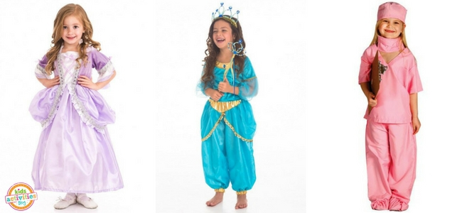Halloween Costumes for Girls - Rapunzel, Arabian Princess, Doctor