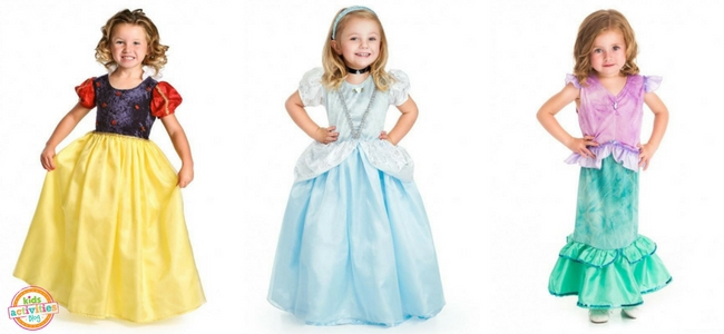 Halloween Costumes for Girls - Snow White, Cinderella, Mermaid