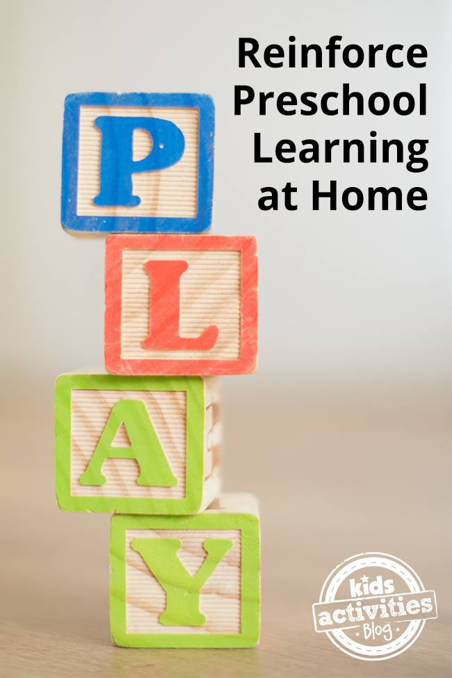 How to Reinforce Preschool Learning at Home