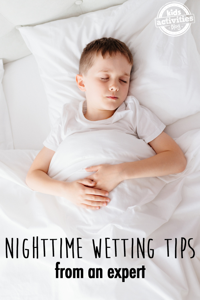 Nighttime Wetting Tips from an expert