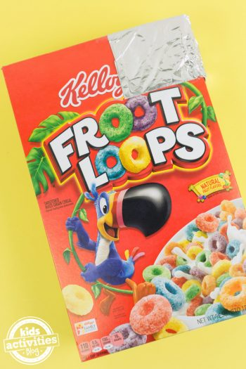 cereal box solar eclipse viewer