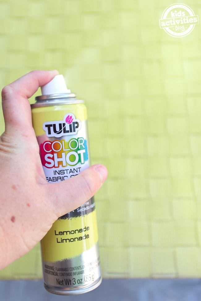 Spraying Tulip ColorShot
