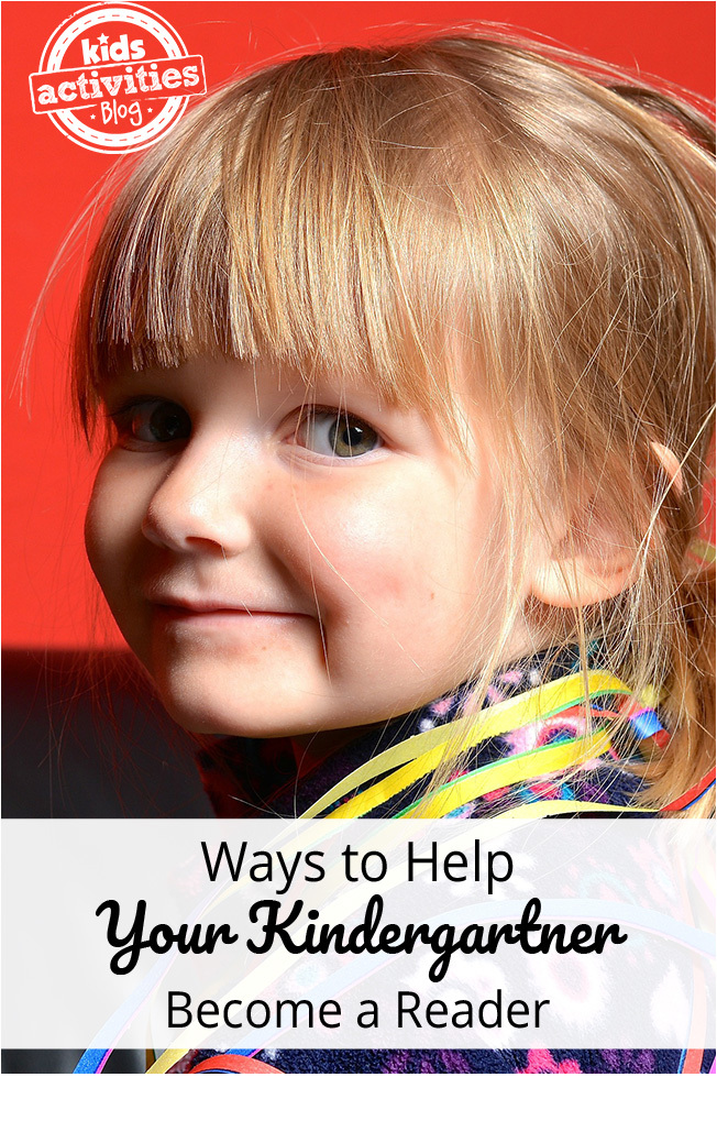 Ways to Help Your Kindergartner Become a Reader