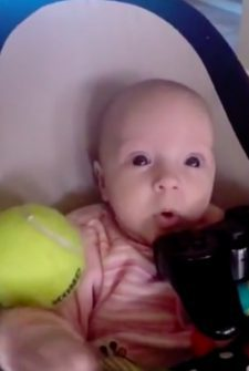 Guilty Dog Apologizes To Crying Baby For Stealing Her Toy By Giving Her All HIS Toys