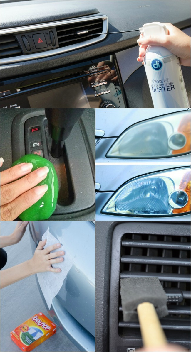 11 Car Cleaning Hacks To Detail Like A Pro