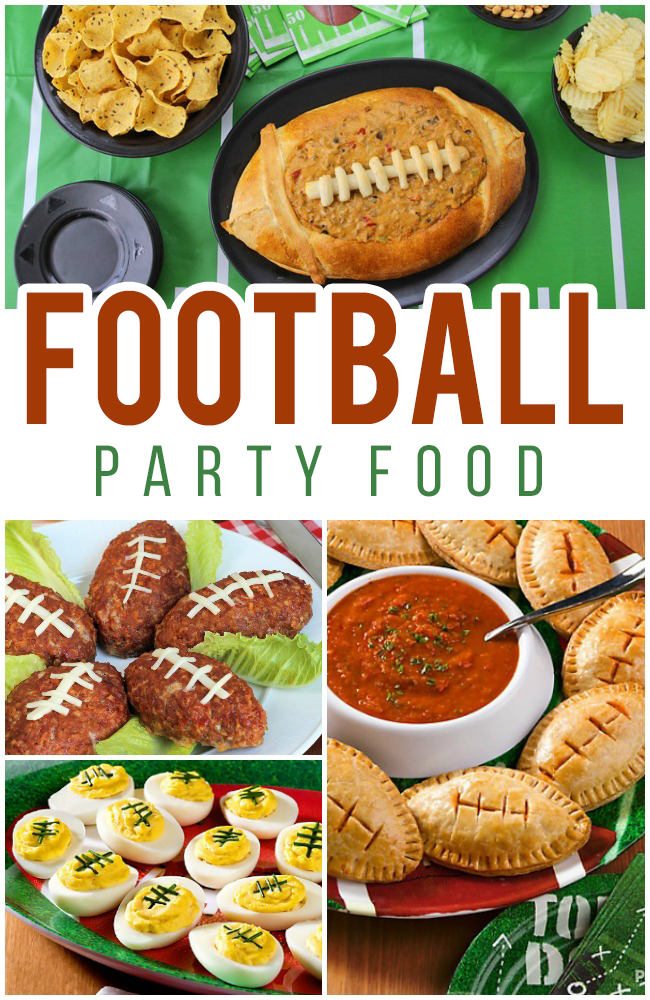 17 Football Shaped Foods for Opening Day