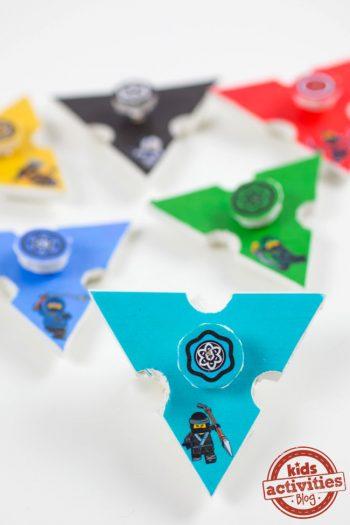 LEGO NINJAGO Fidget Spinners Featured