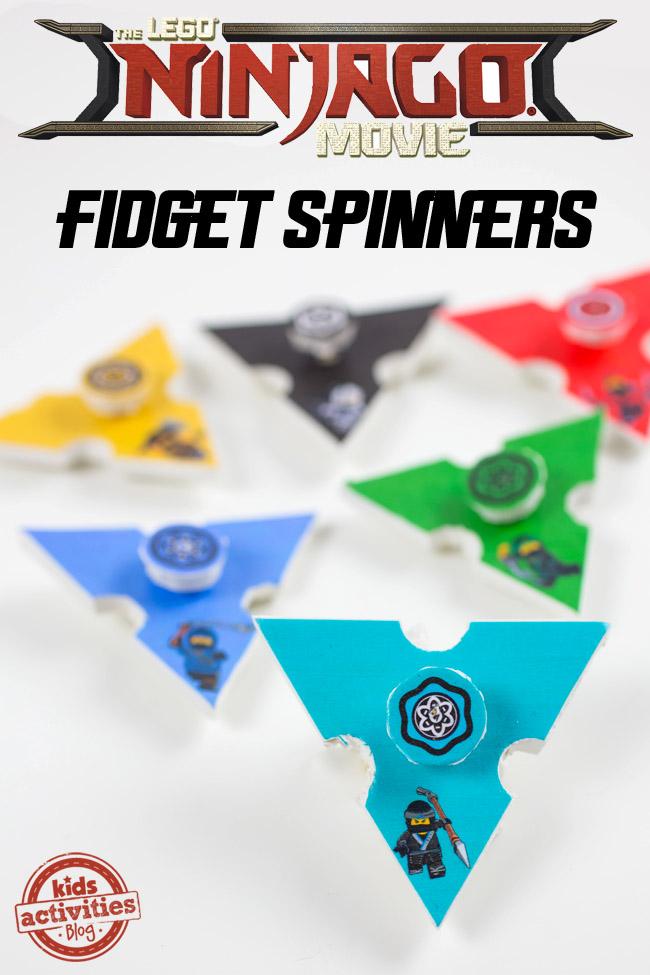 LEGO NINJAGO Fidget Spinners