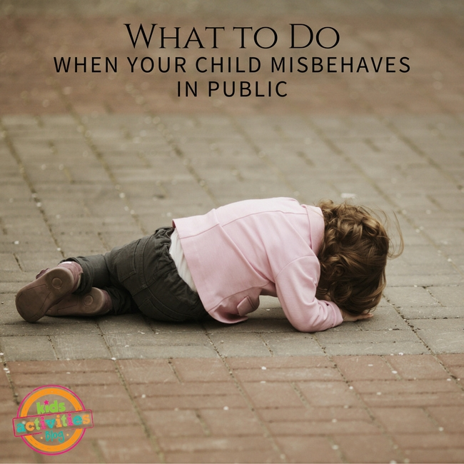 What To Do When Your Child Misbehaves in Public
