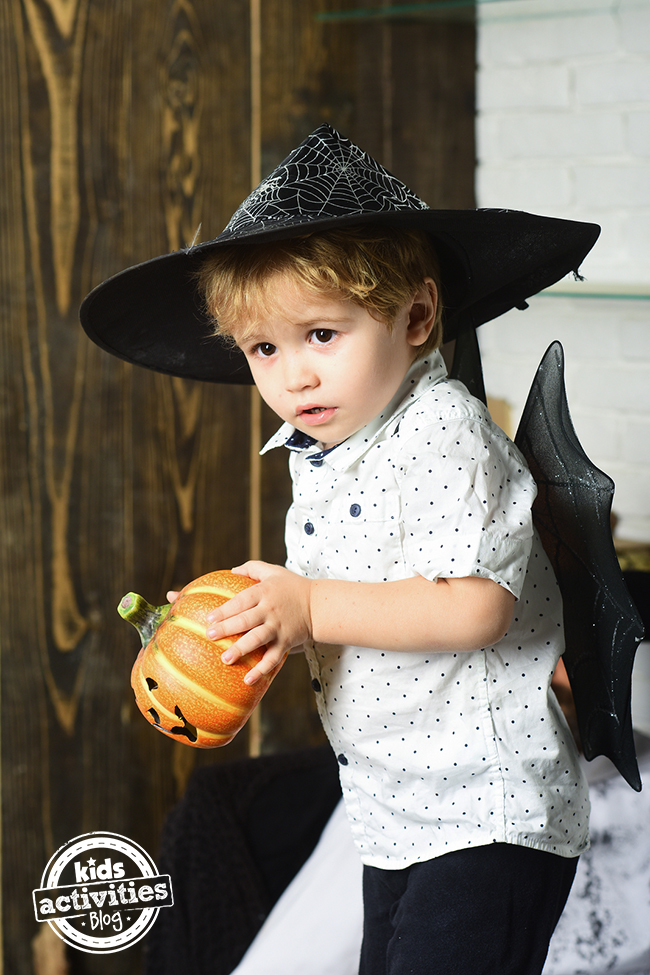 We want Halloween to be fun, not scary for our little kids.