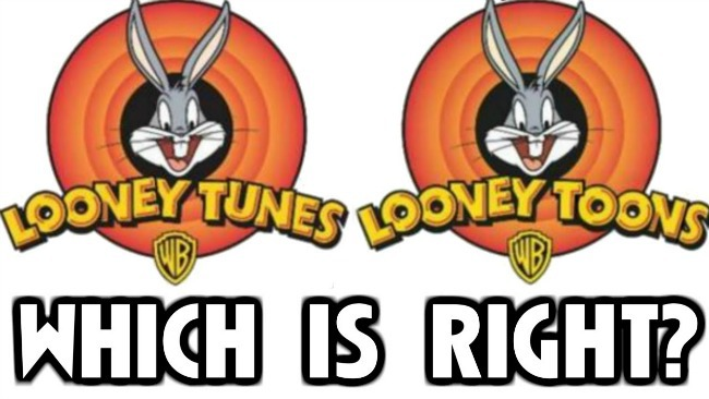 Looney Tunes vs. Looney Toons...which is right?