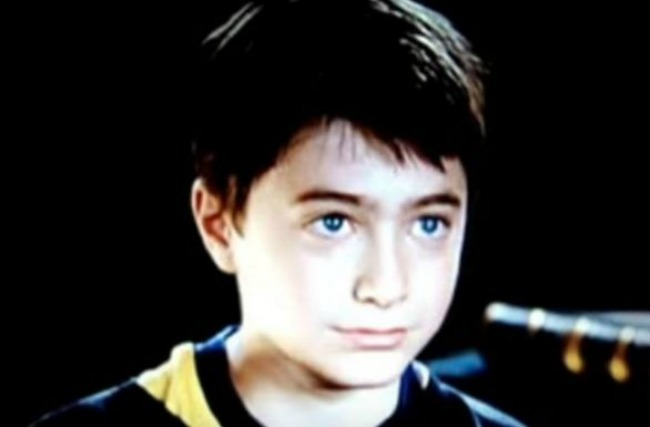 Harry Potter early picture