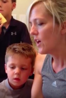 Little Boy Has Cutest Reaction To Scary Story!
