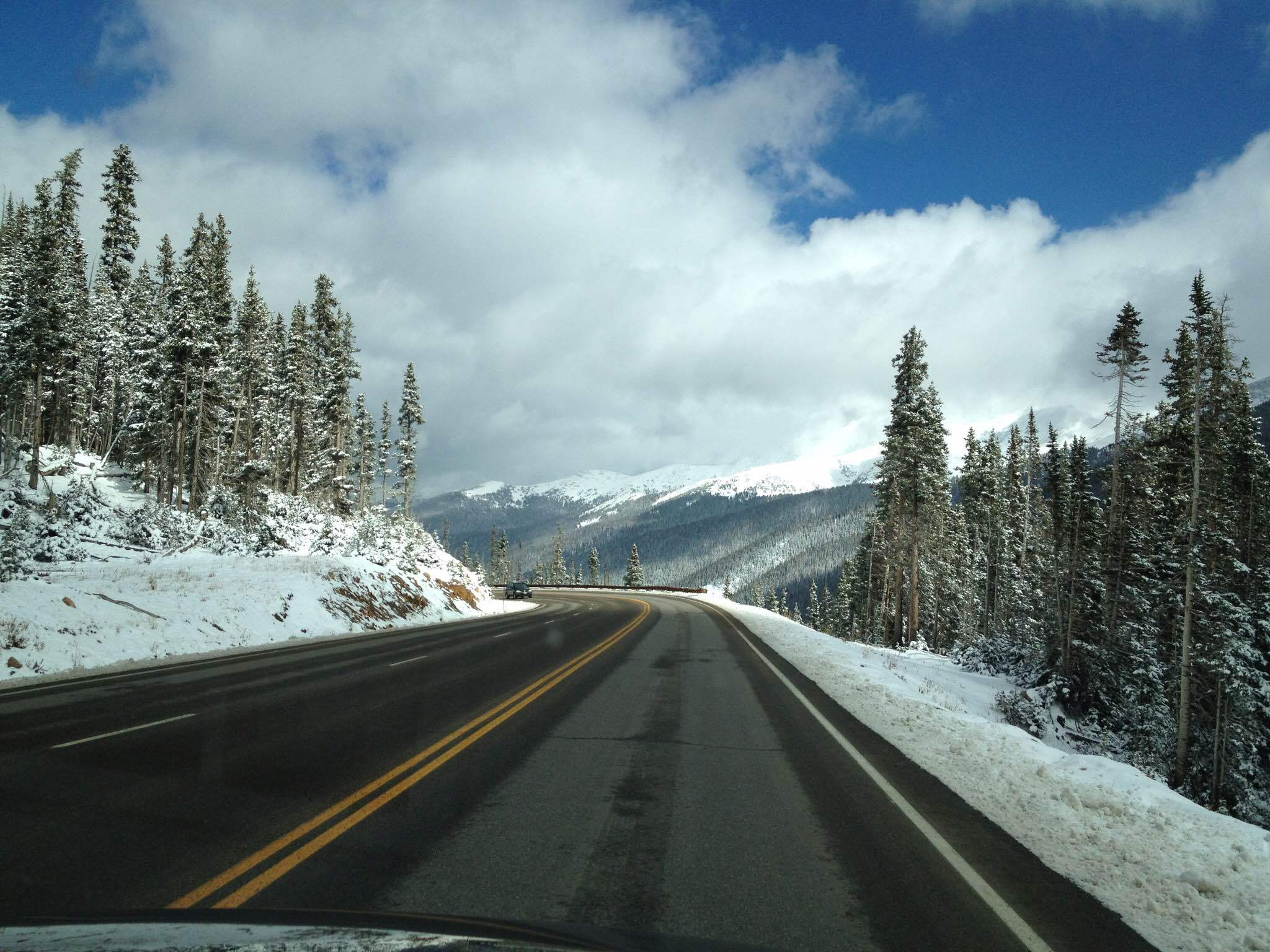 Berthoud Pass near Winter Park Colorado