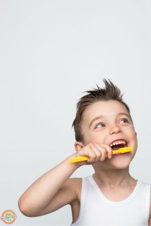Teaching Kids Healthy Brushing Habits