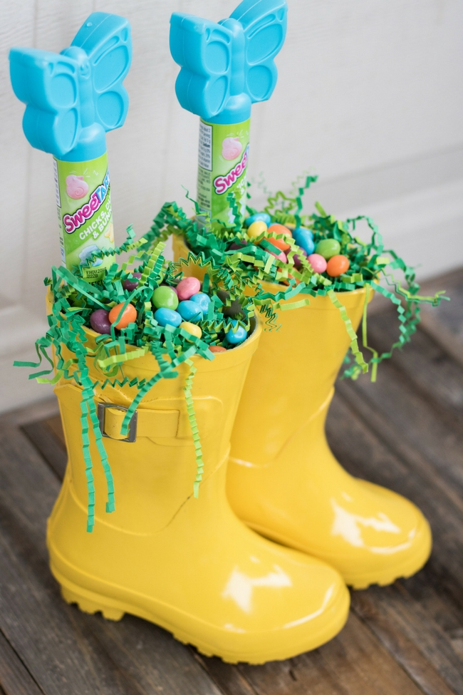 Rain Boot Easter Basket