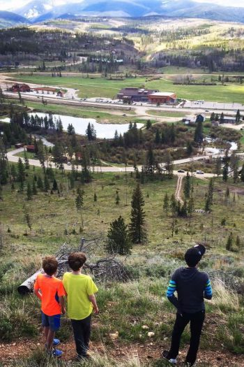best family vacations - boys in Winter Park CO - mountains