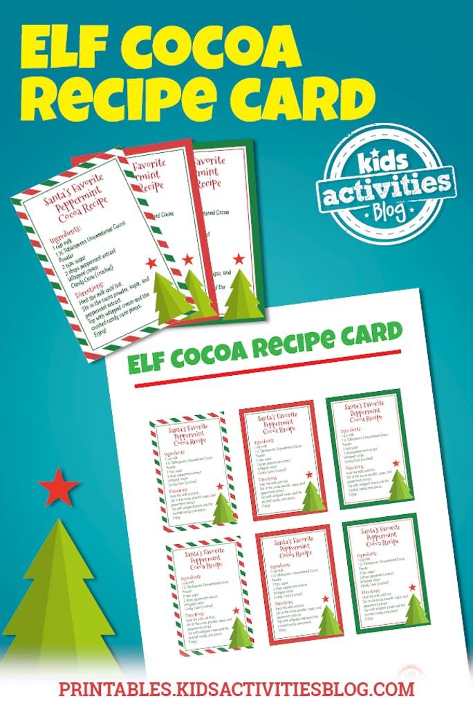 Cocoa Recipe Cards