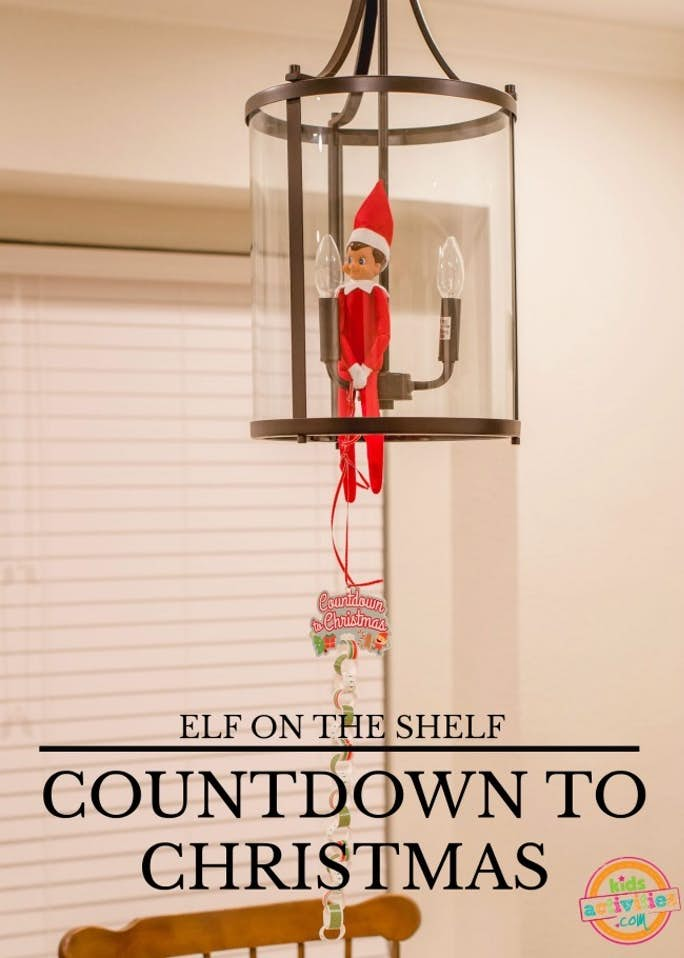 Elf on the Shelf Christmas Countdown