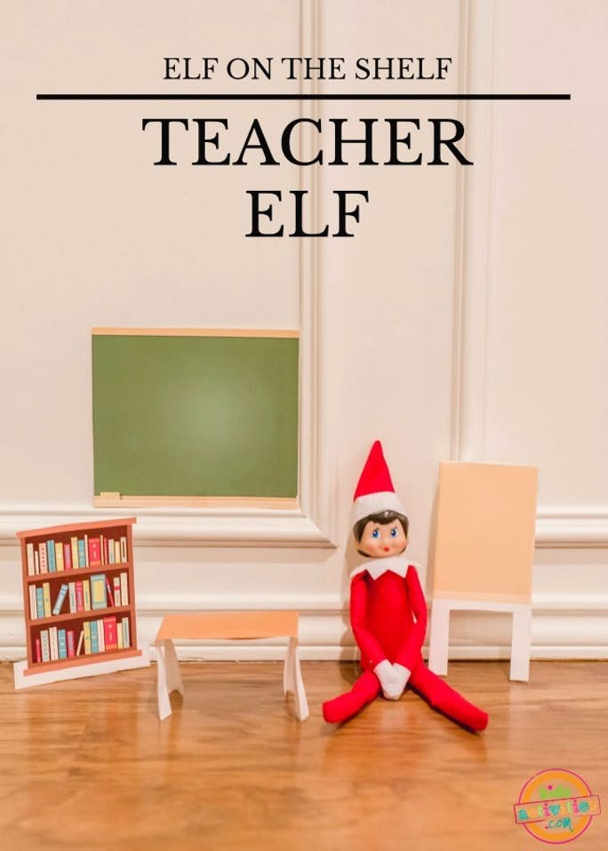 Elf on the Shelf Teacher Elf