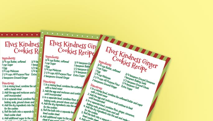 Elf on the Shelf Kindness Cookies