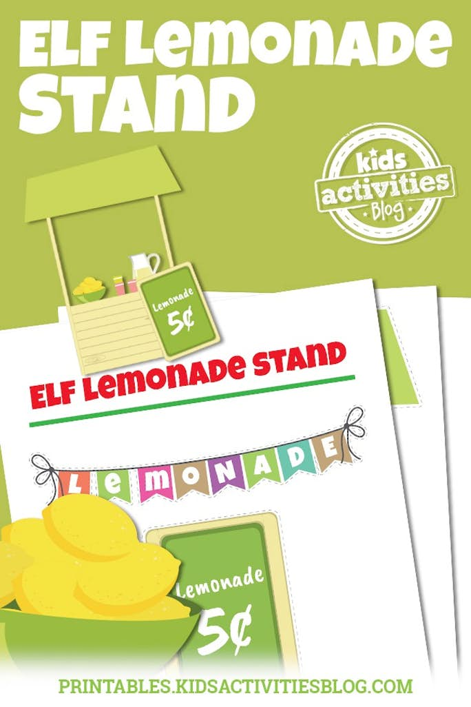 Elf Lemonade Stand