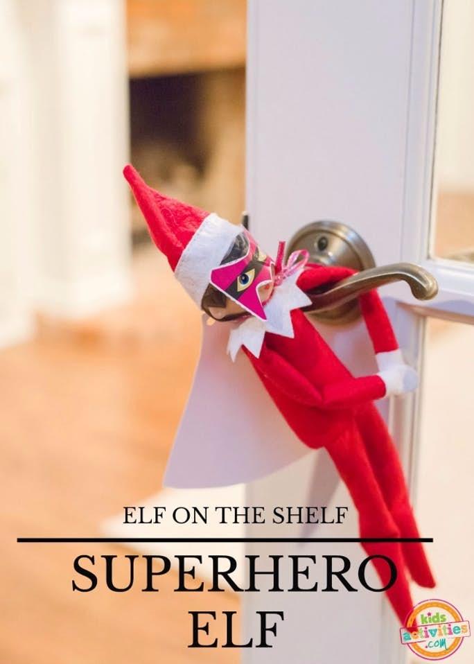 Elf on the Shelf Superhero Elf