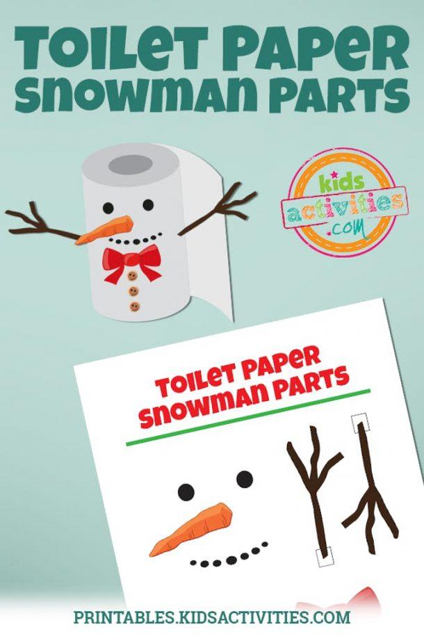 Elf on the Shelf Toilet Paper Snowman