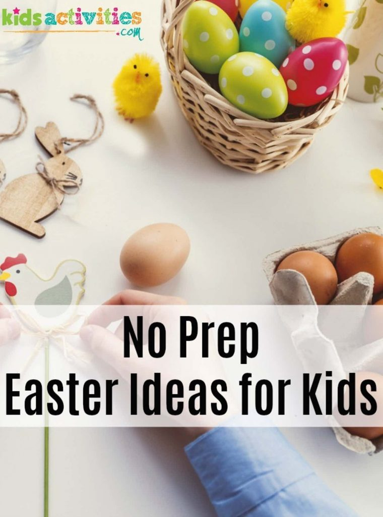 11 free easter activities for kids no prep easter activities