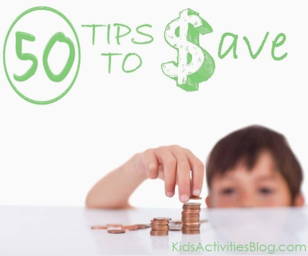 50 Ways To Save Money