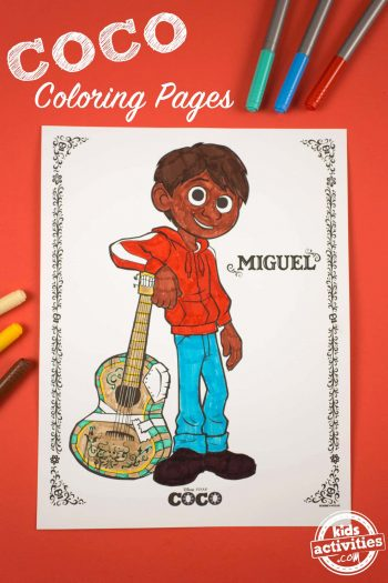COCO Coloring Pages - Coco