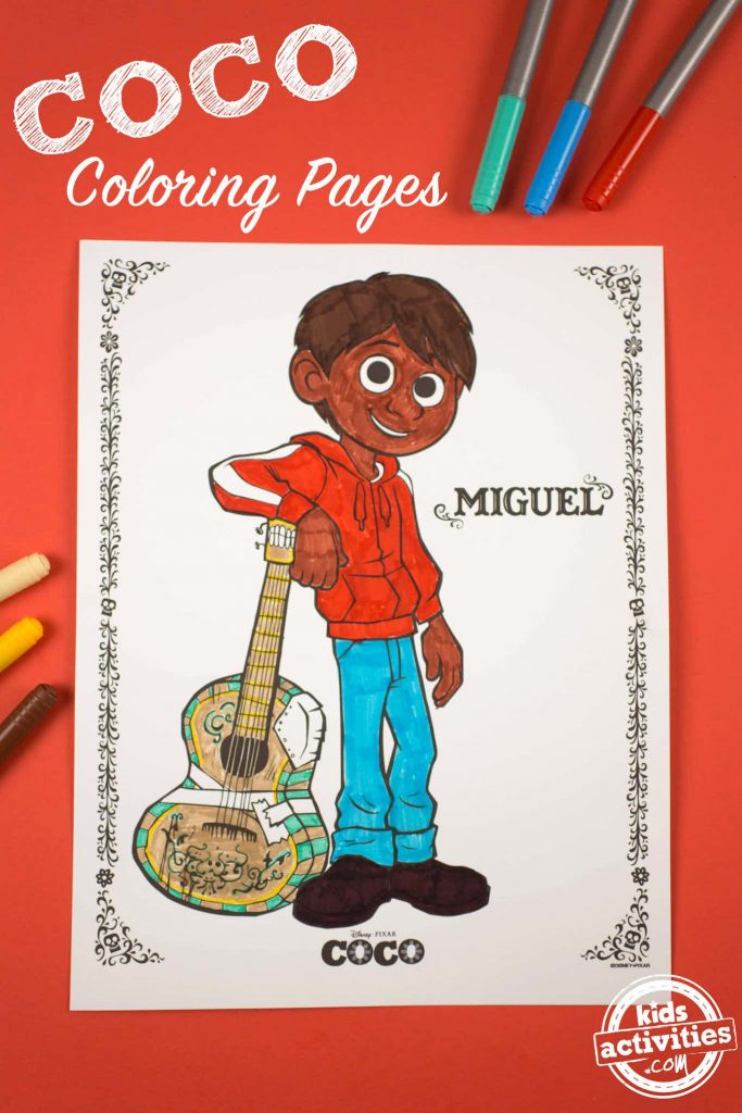 COCO Coloring Pages - Coco