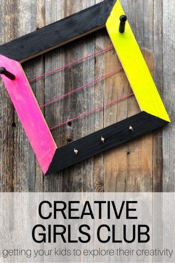 Creative Girls Club box - crafts for girls