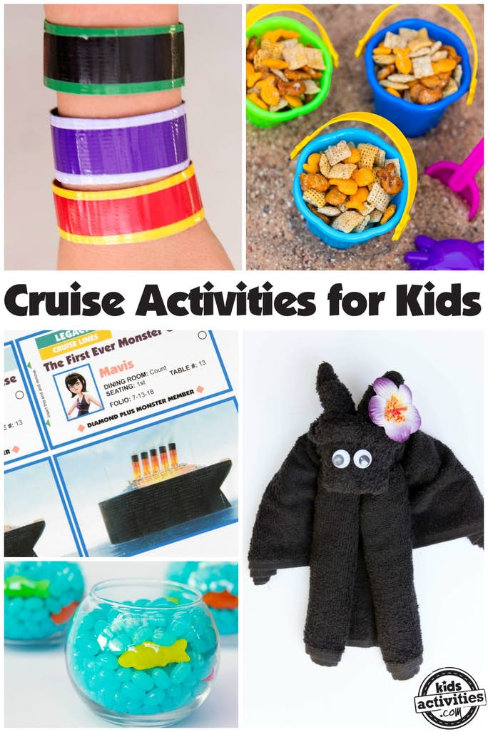 Cruise Activities for Kids Title