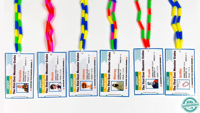 Printable Cruise Lanyards for Kids