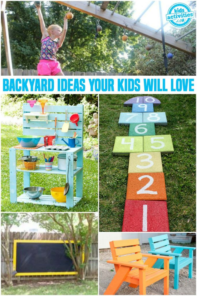 DIY Backyard Ideas that your Kids Will Love