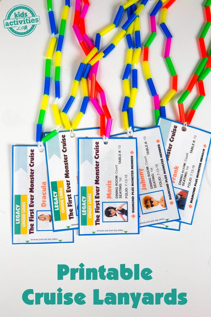 DIY Cruise Lanyards