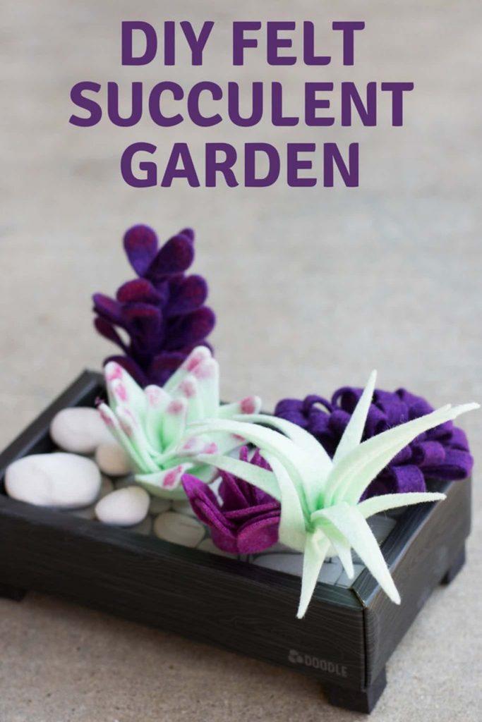 DIY Felt Succulent Garden - Kids Activities