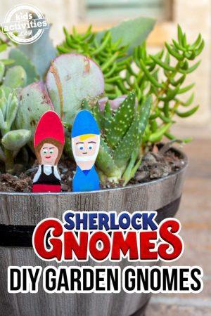 DIY Garden Gnomes
