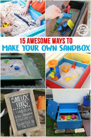 DIY Sandbox - Make a Great Homemade Sandbox