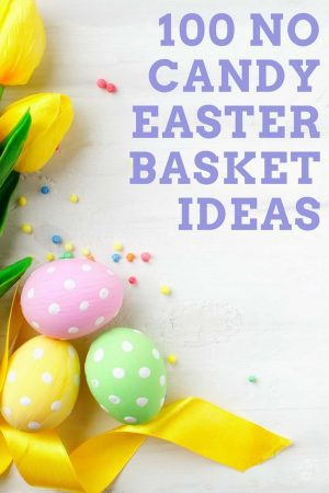 Easter Eggs No Candy Ideas