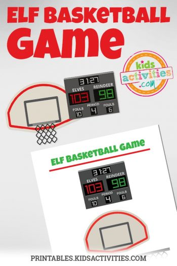 Elf Basketball Game
