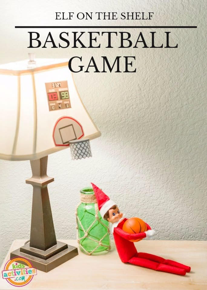 Elf on the Shelf Basketball Game