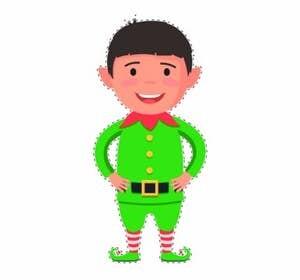 Elf on the Shelf Goes on the Zipline