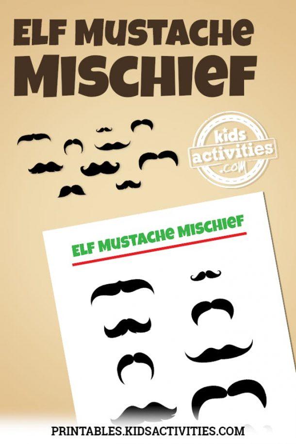 Elf Mustache Mischief