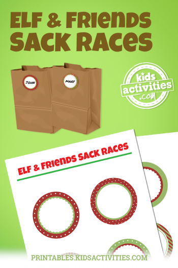 Elf & Friends Sack Races