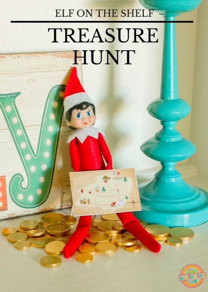Elf on the Shelf Treasure Hunt