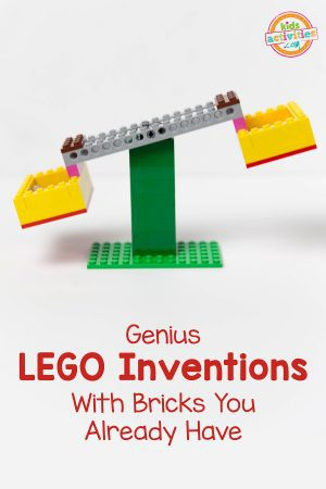 LEGO Balance Scale Stem Project