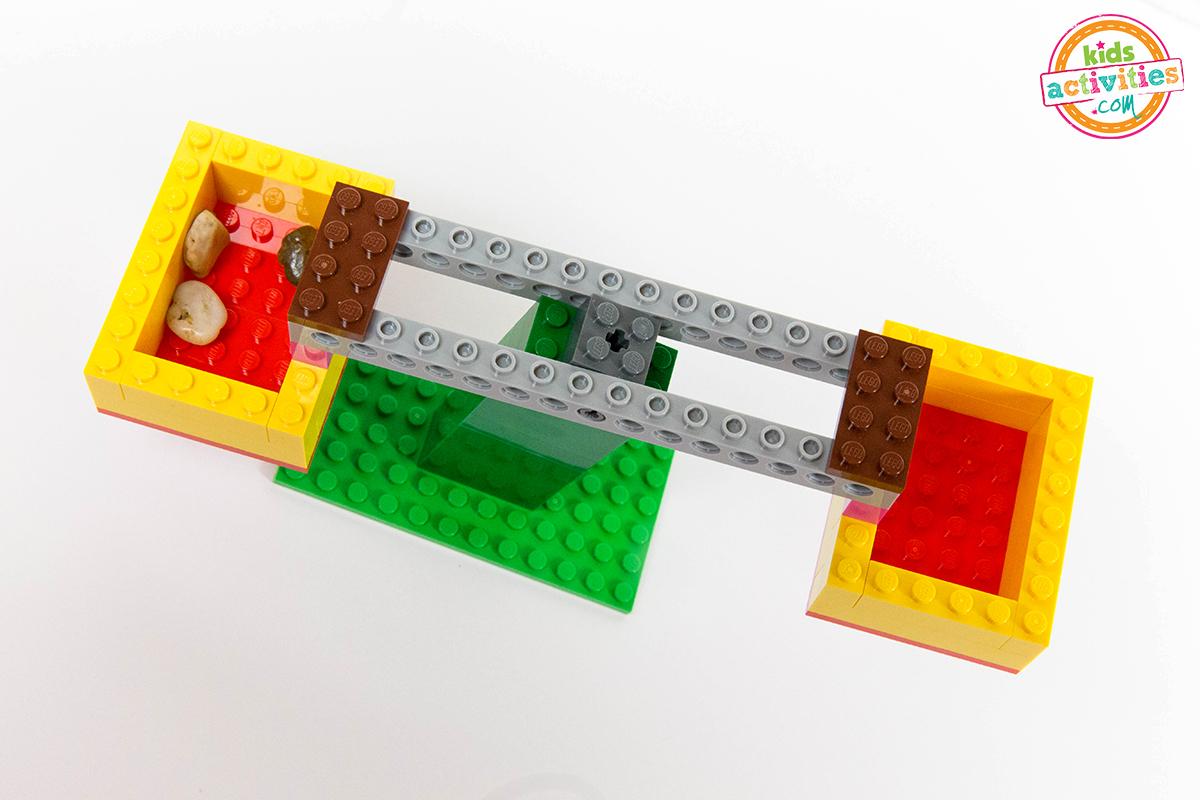 LEGO balance scale